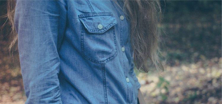 džínové košile